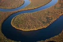 Okavango River in Okavango Delta — Stock Photo