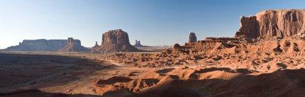 Paysage de monument Valley Navajo Tribal Park — Photo de stock