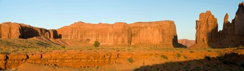 Видом Долина монументов — стоковое фото