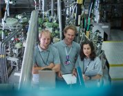 Portrait Of Fusion Reactor Scientists — Stock Photo