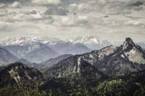 View from Mt Wallberg — Stock Photo
