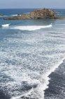 Elevada vista da praia de San Roque, Tenerife, Ilhas Canárias, Espanha — Fotografia de Stock