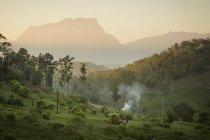 Landschaft Blick auf die Provinz Chiang Mai, Thailand — Stockfoto