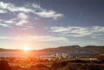 View towards sea, Amadas, Milos Island, Greece — Stock Photo