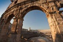 Ruínas antigas de arena — Fotografia de Stock