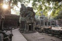 Просмотр Ангкор-Ват, Сием Рип, Камбоджа — стоковое фото
