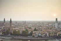 Erhöhter Blick auf Verona — Stockfoto