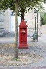 Ansicht der Briefkasten auf Stadtstraße in Brügge, Belgien — Stockfoto