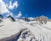 Neve profonda restarono a Mont blanc, Francia — Foto stock