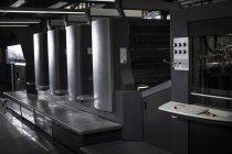 Hallo Tech Druckmaschinen in Druckwerkstatt — Stockfoto