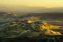 Lakagigar de crateras vulcânicas, Parque Nacional Skaftafell, Islândia — Fotografia de Stock