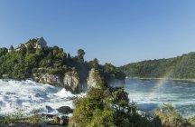 River Rhine waterfalls — Stock Photo