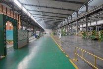 Solarmodul Montage-Fabrik, Solar Valley, Dezhou, China — Stockfoto