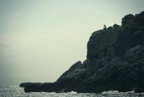 Scugnizzo statue, Capri, Napoli, Campania, Italia — Stock Photo