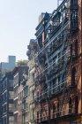 Loft apartment building, centro di Manhattan, New York, USA — Foto stock