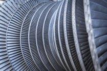 Detail der Niederdruck-Dampf-turbine — Stockfoto