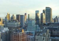 Veduta aerea di Cityscape New York, USA — Foto stock
