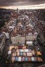 HIgh angle view of Bern cityscape, Switzerland — Stock Photo