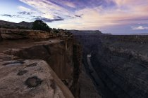 Toroweap Overlook, Grand Canyon, Toroweap, Utah, EUA — Fotografia de Stock