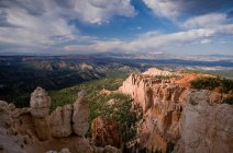 Vue panoramique de Bryce Canyon, Utah, Usa — Photo de stock