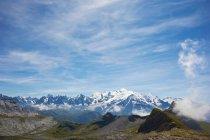Montagnes au paysage rocheux — Photo de stock