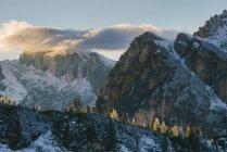 Lago di Limides, Alto Adige, Dolomiti, Italia — Foto stock