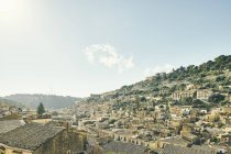 Cityscape with traditional rooftops, Modica, Sicily, Italy — Stock Photo