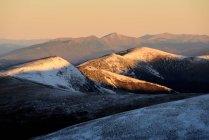 Хребет Свидовец, Карпатские горы, Ивано-Франковская область, Украина — стоковое фото