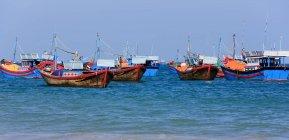Vista in lontananza di Nha Trang, Khanh Hoa Province, Vietnam — Foto stock