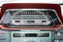 Schuss von Oldtimer Radio hautnah — Stockfoto