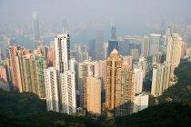 Hong kong Stadtbild — Stockfoto