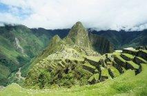 Malerische Aussicht auf Machu Picchu peru — Stockfoto