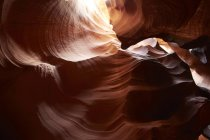 Upper Antelope Canyon outside of Page — Stock Photo