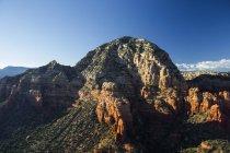 Pedras do sol iluminado em Sedona, Arizona, EUA — Fotografia de Stock