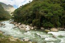 Вид на річку від Аґуас-Кальєнтес — стокове фото