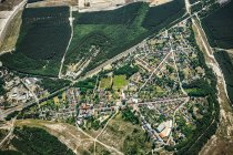 View of suburban landscape — Stock Photo
