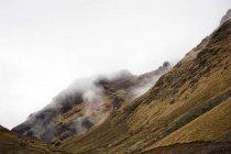 Climb to mountain pass of Abra Tirihuayjasa — Stock Photo