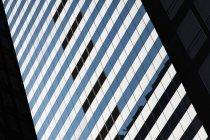 Деталь небоскреб в Нью-Йорке, США — стоковое фото