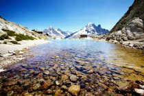 Rocky valley river — Stock Photo