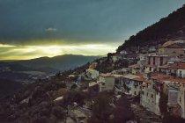 Observación de Peille, Alpes Maritimes, Francia — Stock Photo