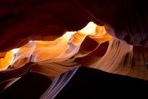 View of Antelope Canyon, Page, Arizona, USA — Stock Photo