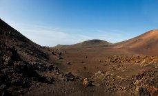Краєвид гір під Синє небо — стокове фото