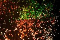 Волоконно-оптические кабели огни, абстрактный узор — стоковое фото