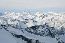 Вершины гор Селкирк — стоковое фото