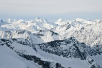 Вершин гори Селькіркський — стокове фото
