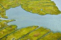 Água e paisagem no Newport County — Fotografia de Stock