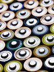 Lots of batteries, close up shot — Stock Photo