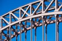 Urban bridge infrastructure — Stock Photo