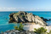 Chaplin Bay Rock, bermuda — Foto stock