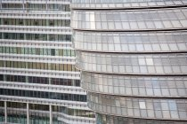 Aerial view of London city hall glass windows — Stock Photo